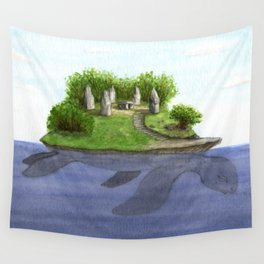 Turtle island Wall Tapestry