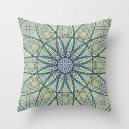Geometric Flower, Scared Geometry Art - C15175.3 Throw Pillow