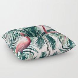 Flamingo tropics Floor Pillow