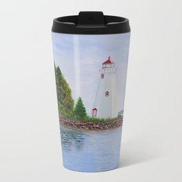 Tobermory Light House Metal Travel Mug