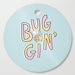 Totally Buggin' Cutting Board