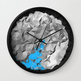 Globe off Wall Clock