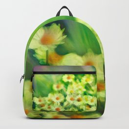 """""""Spring of daisies, green and sunlight"""" Backpack"""