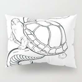 Gopher Tortoise & Eastern back Rattlesnake Pillow Sham