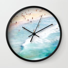 Lazy Daze at Bondi Wall Clock