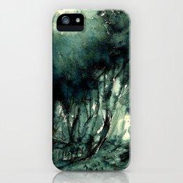 mürekkeple orman iPhone Case