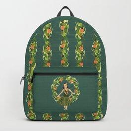 Hula Pineapple Wreath Backpack