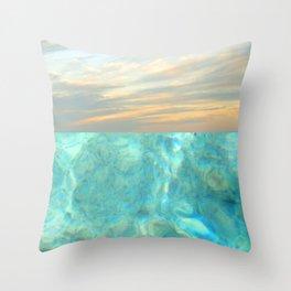 seascape 001 Throw Pillow