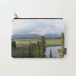Yellowstone River Valley View Carry-All Pouch