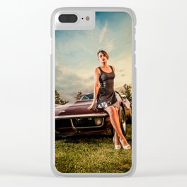 Glamour vette Clear iPhone Case