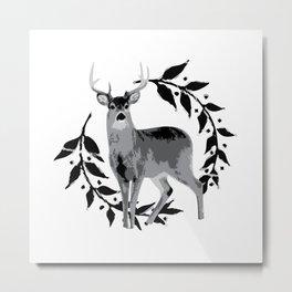 Laurel Deer Metal Print