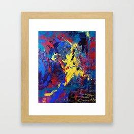Dance When You Walk Framed Art Print
