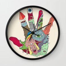 Put'er There Wall Clock