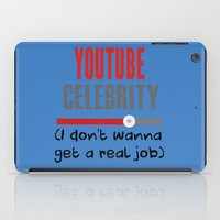 "celebrity iPad Cases featuring ""Celebrity"" by Kramcox"