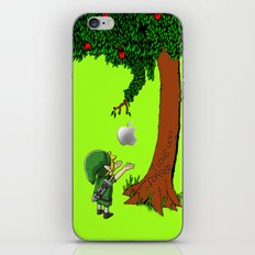 Link Zelda with an apple tree iPhone 4 4s 5 5c, ipod, ipad, pillow case tshirt and mugs iPhone & iPod Skin