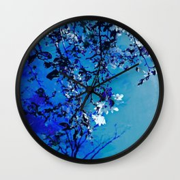 Spring Synthesis IIX Wall Clock