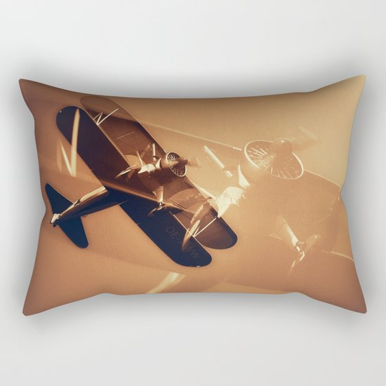 On the Wing II Rectangular Pillow