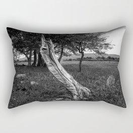 The hand Rectangular Pillow