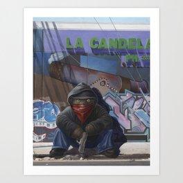 Gangsta Teddy - Aftermath Art Print