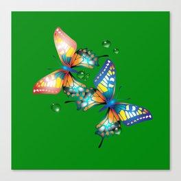 Schmetterlinge Canvas Print