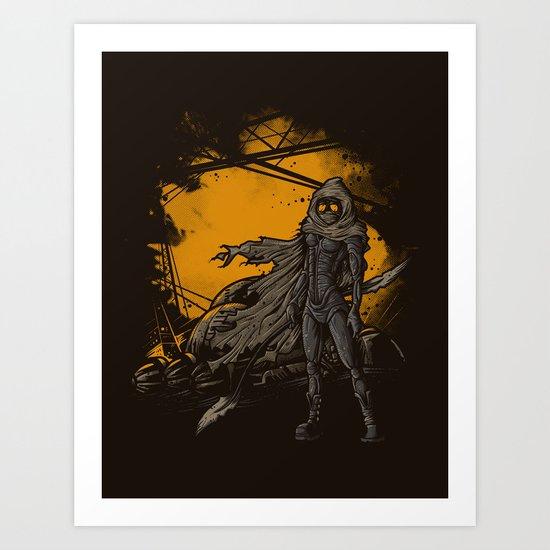 SPICE HARVESTER Art Print