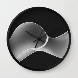 Ass Up (Negative) Wall Clock