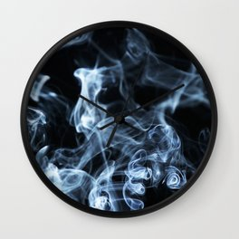 Swirling Wall Clock