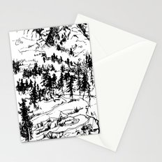 This is where it happened last autumn Stationery Cards