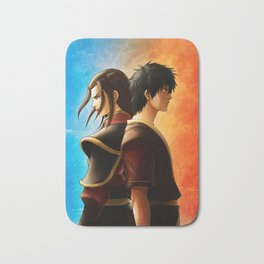 Azula and Zuko Bath Mat