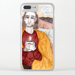 Cosy Comfort Clear iPhone Case