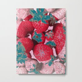 Strawberry Love (Lost Time) Metal Print