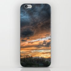 Vista (the sky is source of great beauty) iPhone & iPod Skin