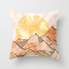 Sandy Shores Throw Pillow