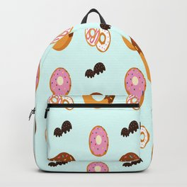 Donuts Sweet Baking Pastry Birthday Gift Backpack