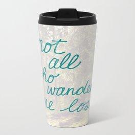 Time to Wander Travel Mug
