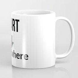 start somewhere Coffee Mug