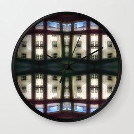 Apartment blues Wall Clock