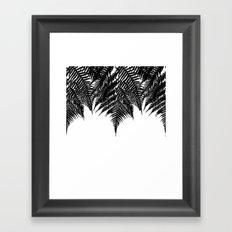 Fern Fringe Framed Art Print