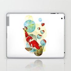 Koi Fish In Love Laptop & iPad Skin