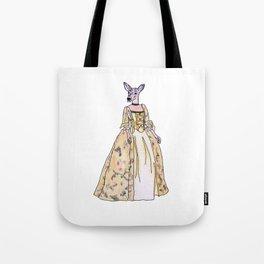 Lady Deer Tote Bag