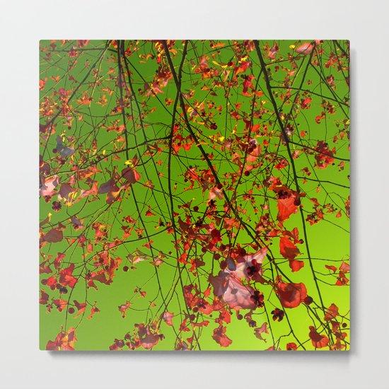 red tree IV Metal Print