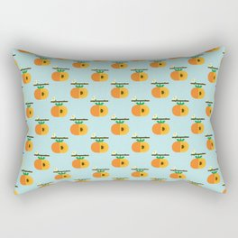 Fruit: Persimmon Rectangular Pillow