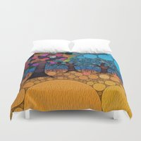 levi Duvet Covers featuring :: Jewel Tree :: by :: GaleStorm Artworks ::