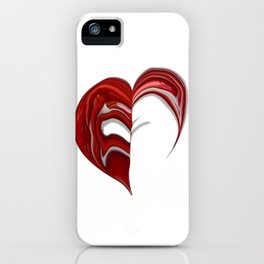 Love formation iPhone Case