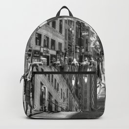Street Scene New York City Backpack