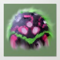 metroid Canvas Prints featuring Metroid  by Luke Thirteen