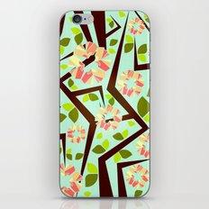 Blooming Trees Pattern III iPhone & iPod Skin