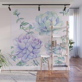 Wonderful Succulents Wall Mural