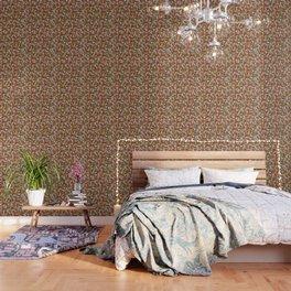 Golden Chrysanthemums Wallpaper
