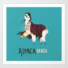 Alpacagawea Art Print